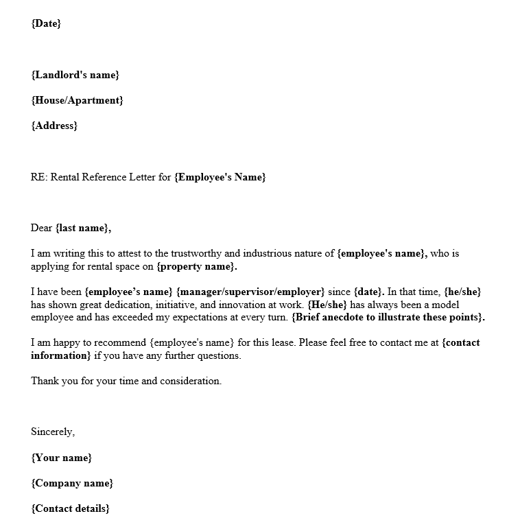 Sample Reference Letter For Employment from images.docformats.com