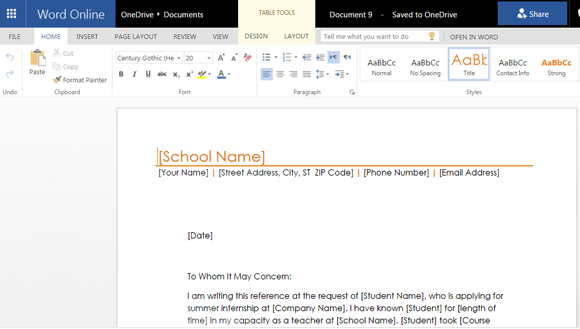 Reference Letter Template Free from cdn.free-power-point-templates.com