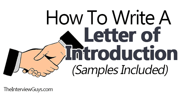 Self Introduction Letter To Client from theinterviewguys.com