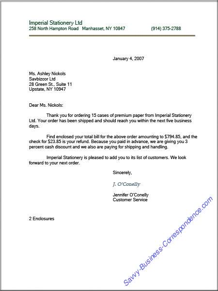 Business Letter Envelope Format from www.savvy-business-correspondence.com