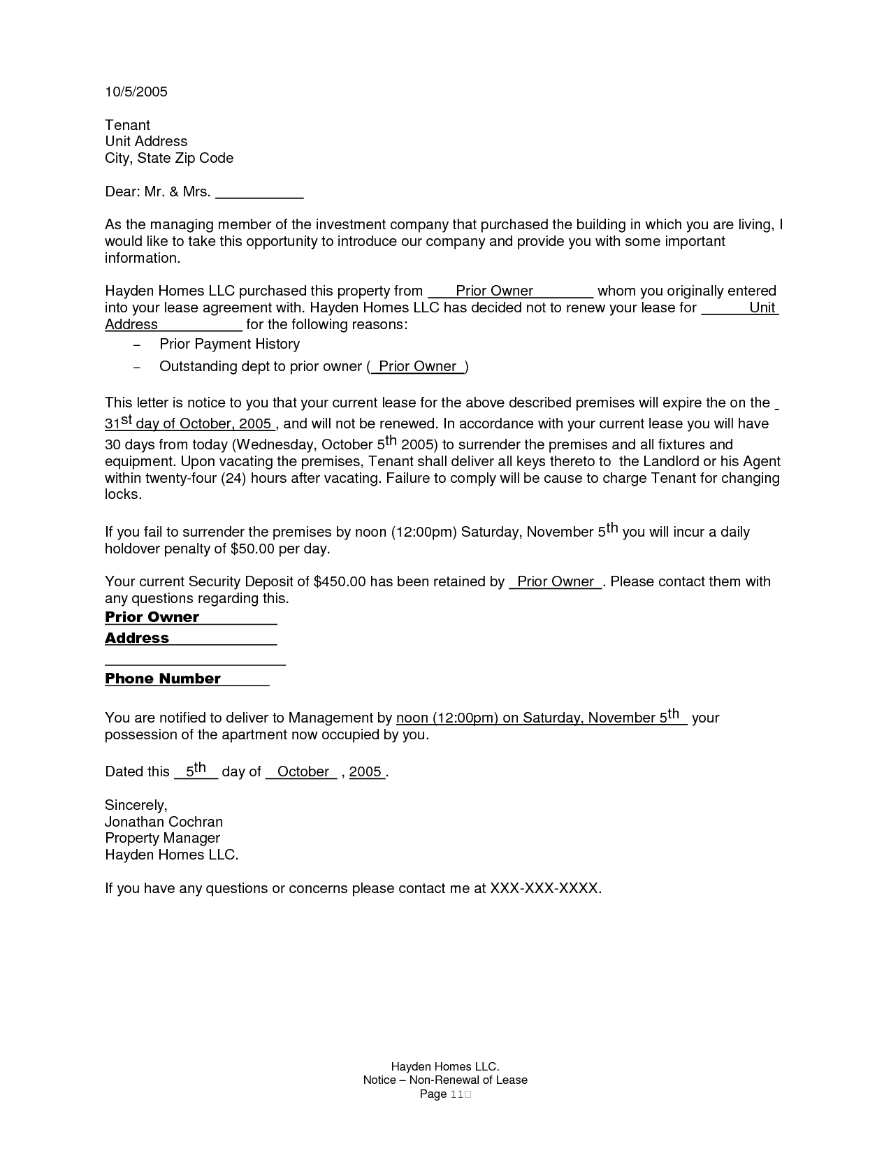 Commercial Lease Renewal Letter from i.pinimg.com