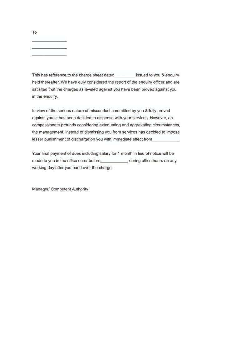 Notice Of Termination Of Employment Letter from images.template.net