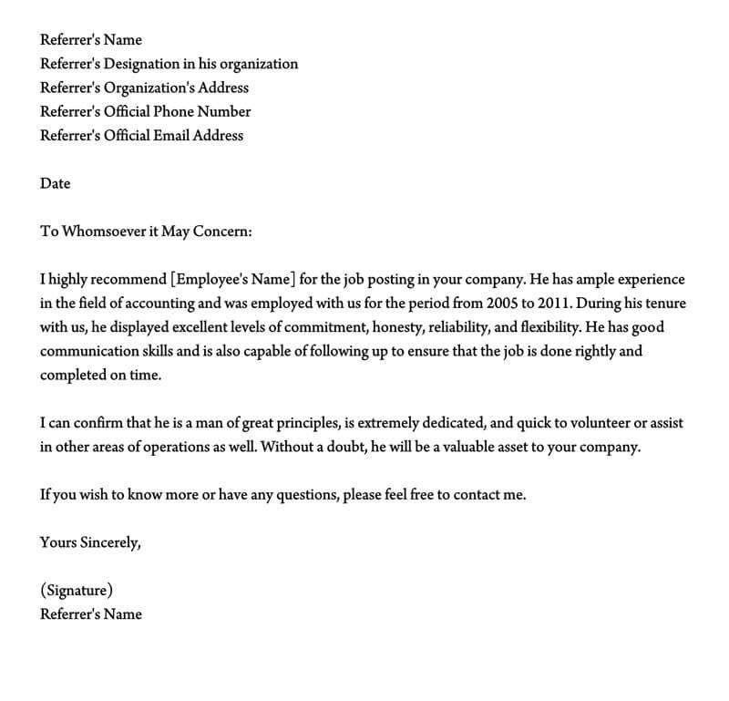 Character Reference Letter To Judge from www.wordtemplatesonline.net