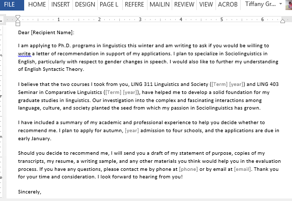 Example Of Recommendation Letter For Student from cdn.free-power-point-templates.com