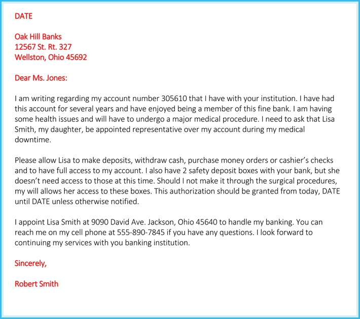 Full Access Letter For Mortgage from www.wordtemplatesonline.net