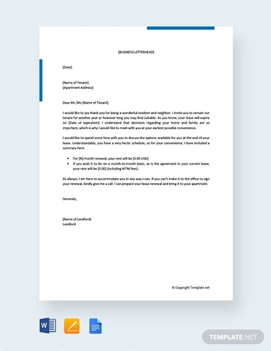 Free Non Renewal Of Lease Letter from images.examples.com