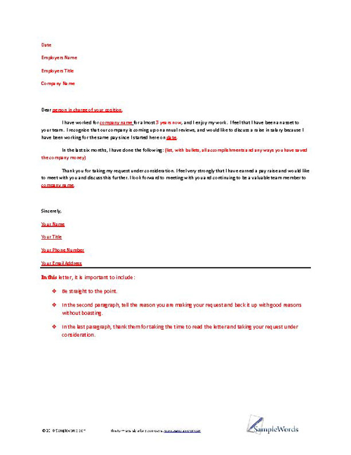 Letter Of Request Template from www.samplewords.com