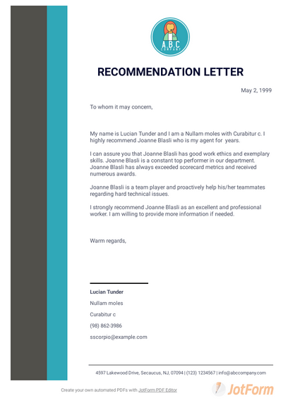Letter Of Recommendation Template Pdf from cdn.jotfor.ms