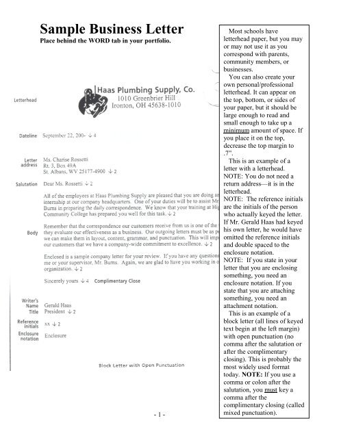 Business Letter Format Pdf from img.yumpu.com