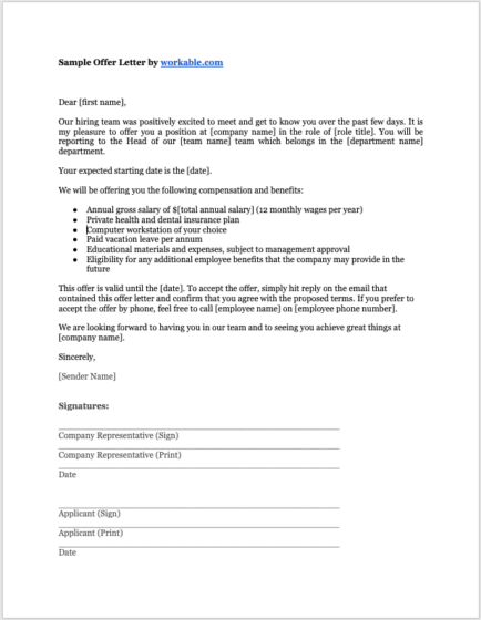 Free Letter Of Employment Template from resources.workable.com