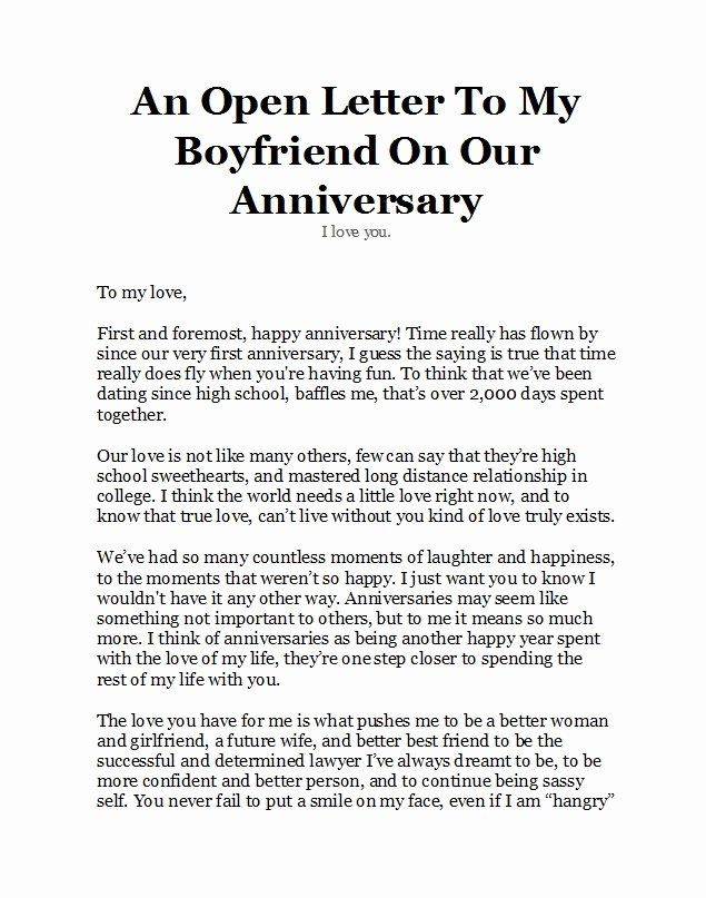 Happy Anniversary Letter To Wife from i.pinimg.com