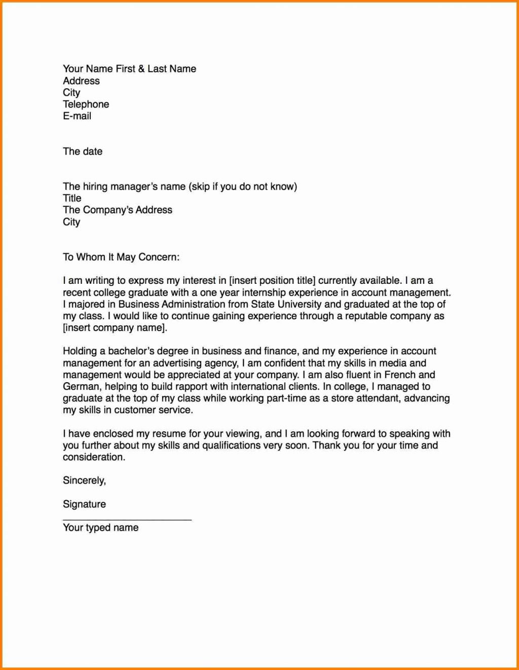 Examples Of Formal Letter from www.clamplightsa.com