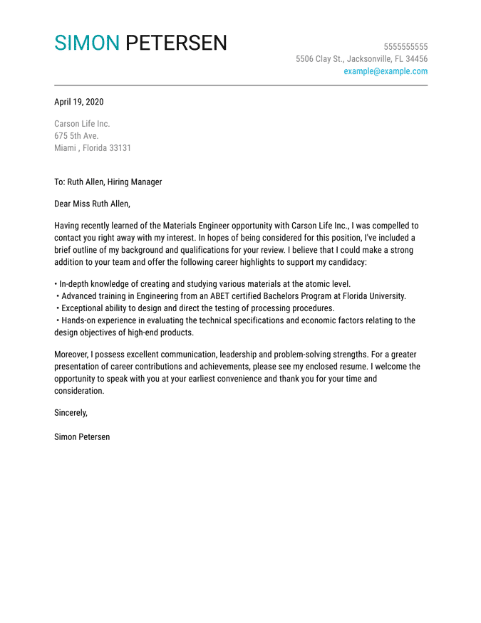 Letter Of Support Template For A Person from www.jobhero.com