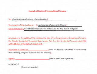 Tenant Termination Letter From Landlord from www.wordexcelsample.com