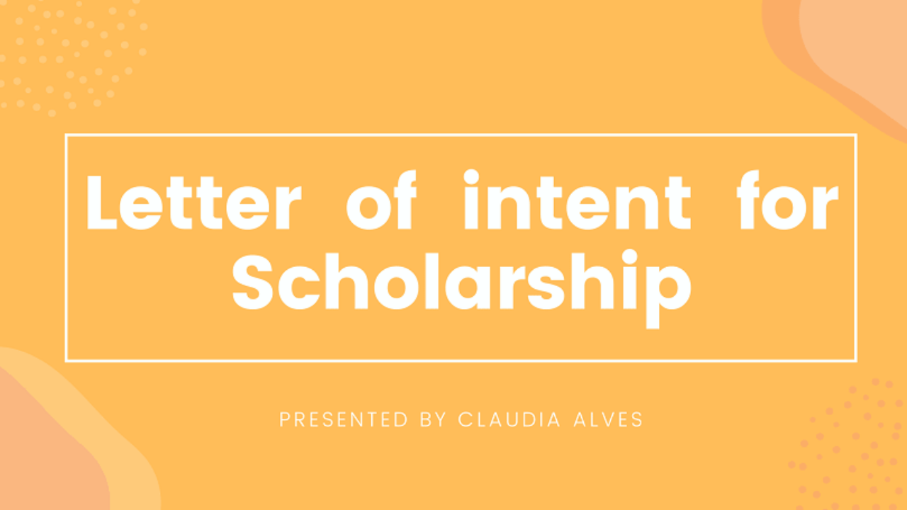 Content Of Letter Of Intent from ascholarship.com