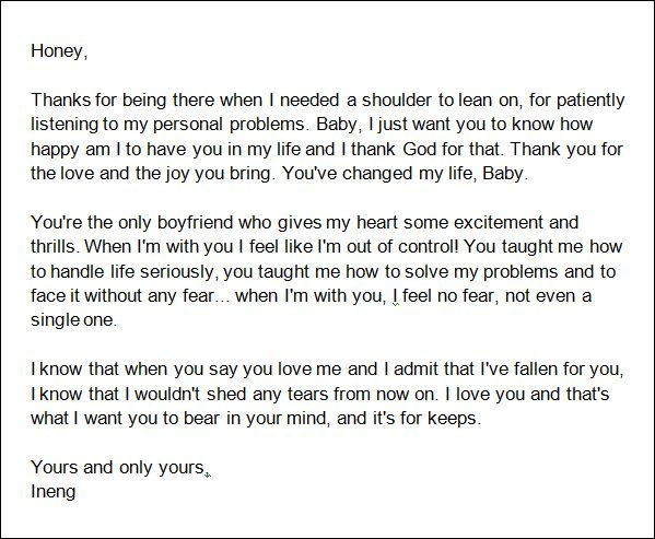 Letter To Someone Special In Your Life from i.pinimg.com