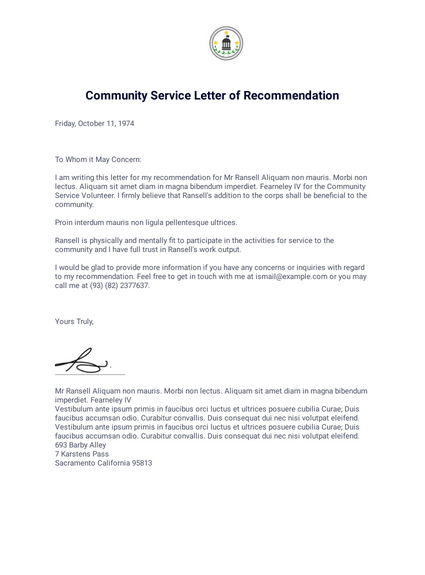 College Scholarship Letter Of Recommendation Samples from cdn.jotfor.ms