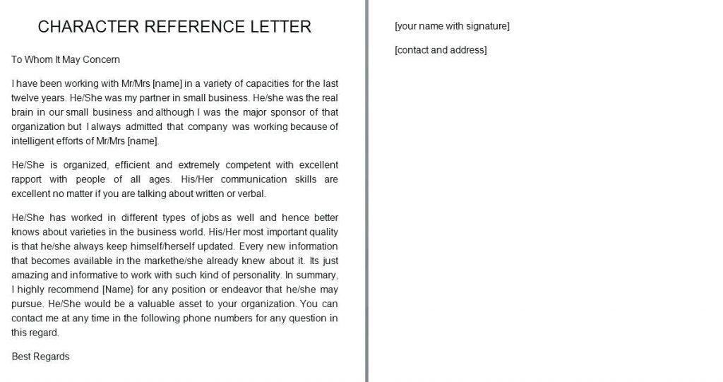 Letter Of Recommendation For A Friend from www.realiaproject.org