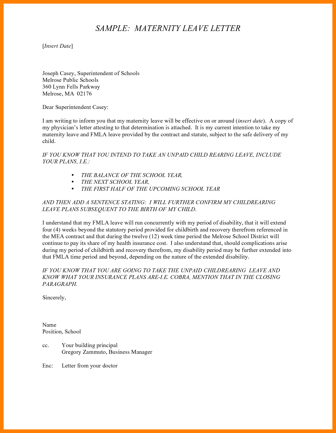 Leave Letter To Teacher from i.pinimg.com