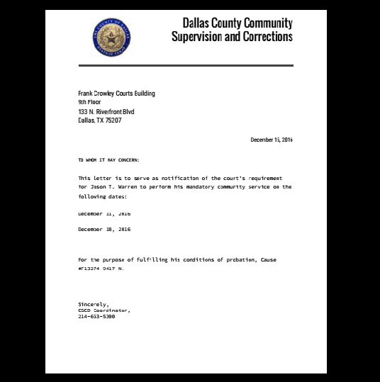 Proof Of Employment Letter For Court from i.pinimg.com
