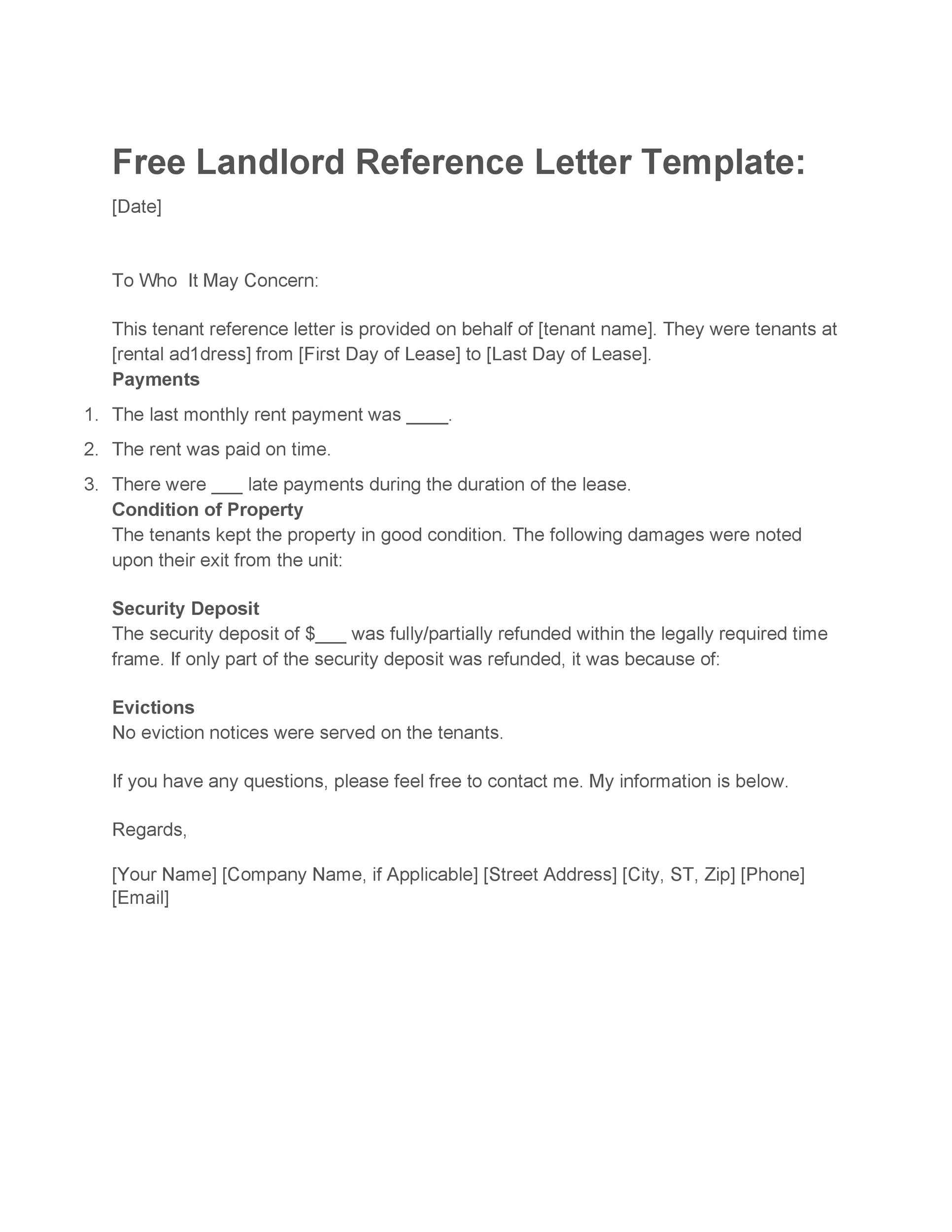 Sample Landlord Letter To Tenant For Damages from templatelab.com