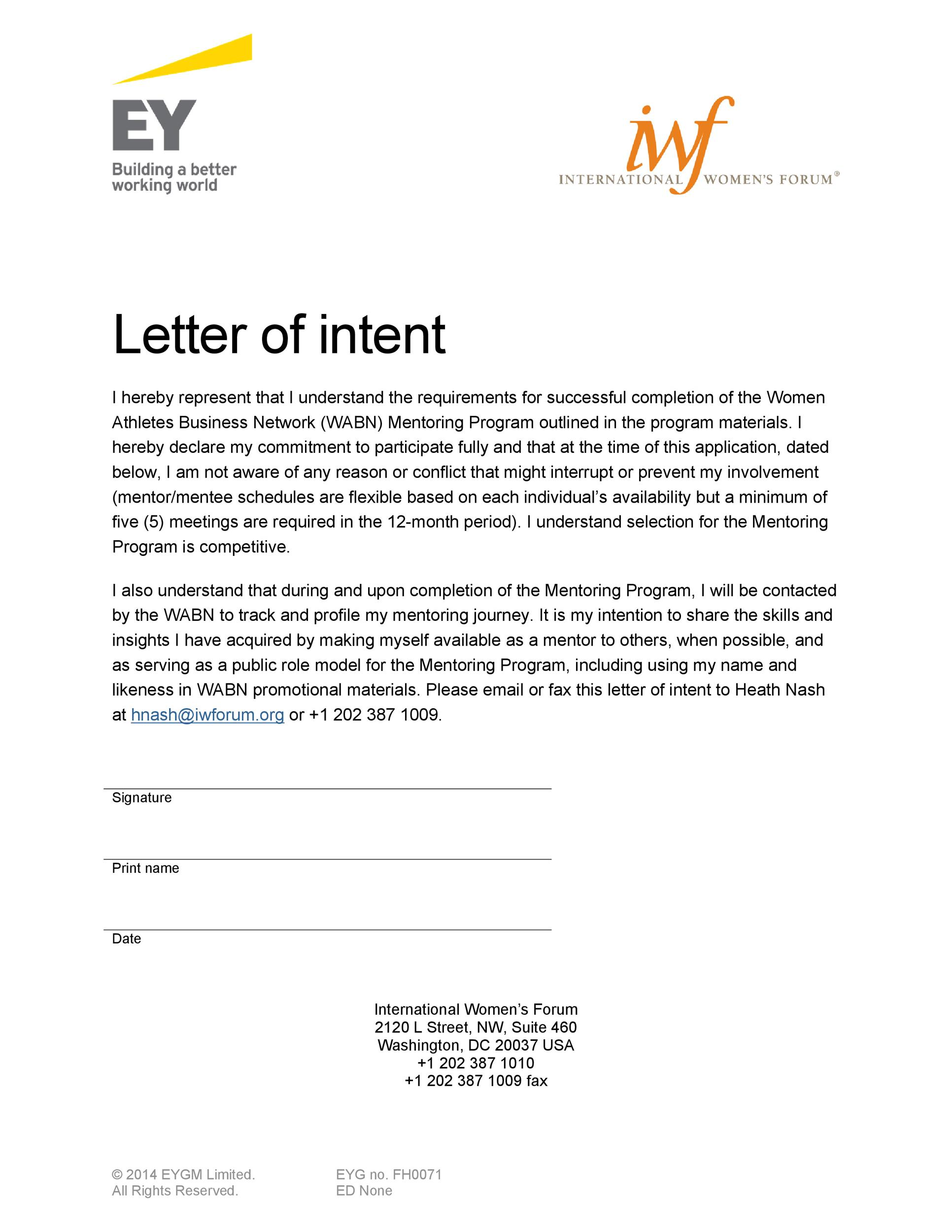 Letter Of Intent To Do Business Example from templatelab.com