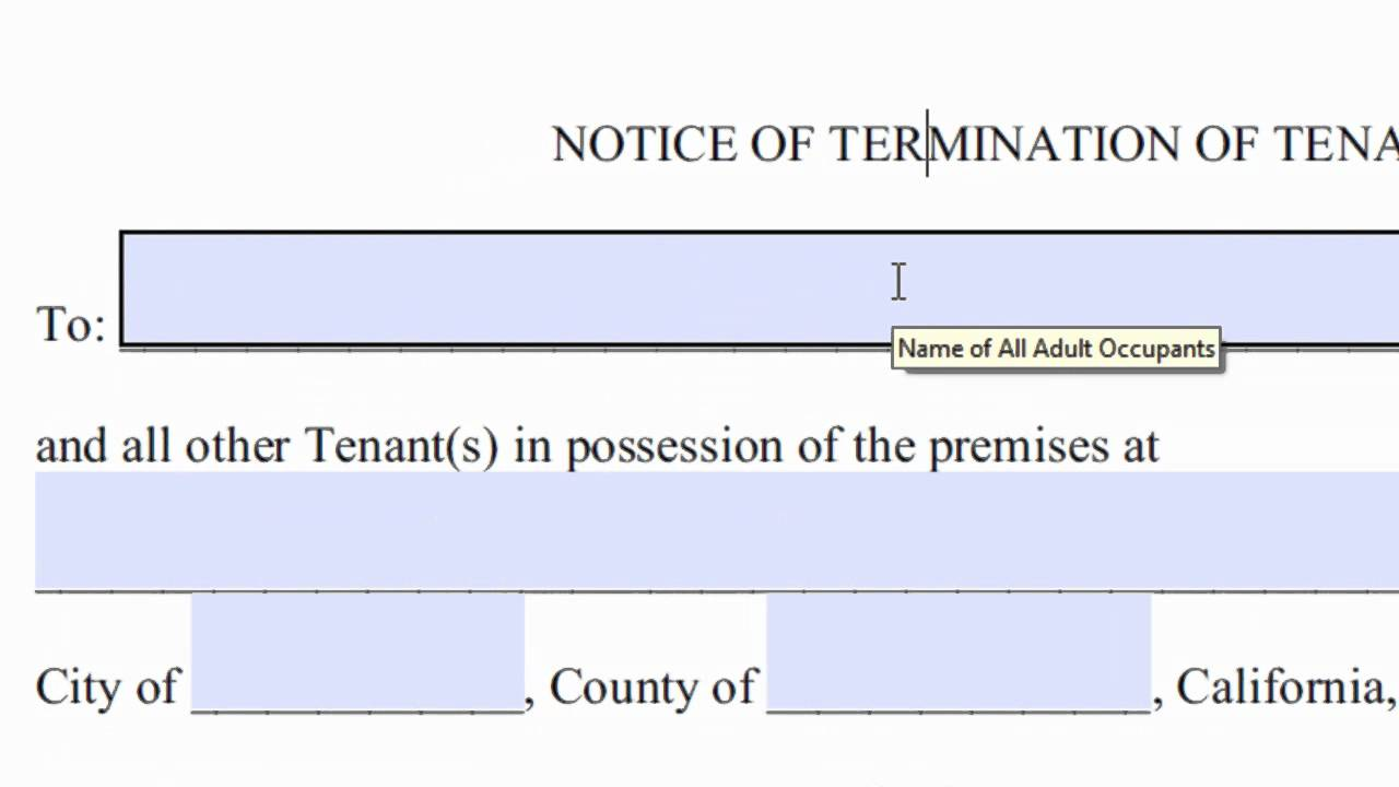 Notice Of Lease Termination Letter from i.ytimg.com