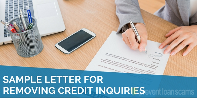 Letter Of Explanation For Credit Inquiries from www.preventloanscams.org